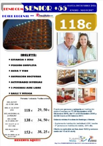 Oferta +55 Benidorm Hotel Regente 3*