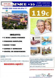 Oferta +55 Hotel del Golf Playa