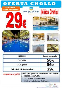 Oferta Chollo Hotel del Golf PLaya