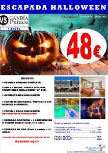 Halloween Hotel Gandia Palace 4*