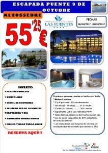 Fin de Semana Puente 09 de Octubre Gran Hotel Las Fuentes