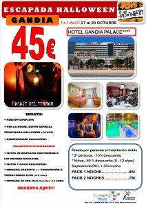 Halloween Hotel Gandia Palace