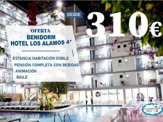 Oferta Hotel Los Álamos 4* Benidorm