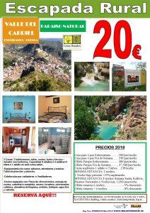 Escapada Rural Casa rural Valle del Cabriel