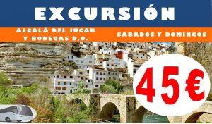 Excursión Alcalá del Júcar y Bodegas