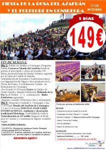 Fiesta de la Rosa del Azafrán y el Folklore Consuegra 2018
