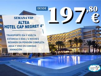 OFERTA Semanas Vip - Hotel Cap Negret de Altea - Tuserco