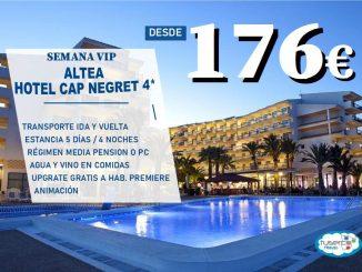 OFERTA Semana Vip en Hotel Cap Negret de Altea - Tuserco
