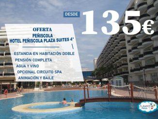 Oferta Hotel Peñíscola Plaza Suites4*