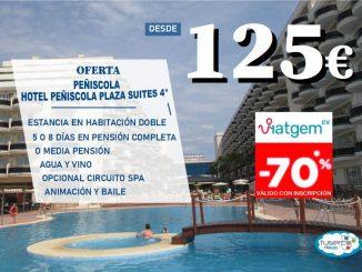 OFERTA Hotel ZT Peñiscola Plaza Suites Tuserco Travel Bono