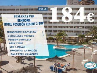 OFERTA Semana VIP Hotel Poseidon Resort TUSERCO