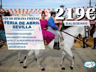 Feria de Abril Sevilla Fin de Semana - TUSERCO TRAVEL
