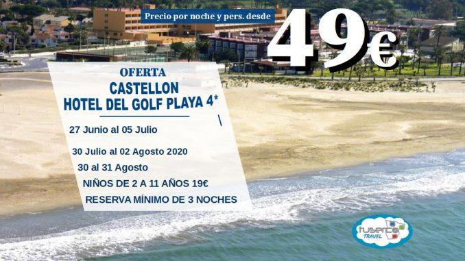 Oferta Chollo Hotel del Golf Playa de Castellon - Tuserco
