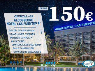Oferta +55 Gran Hotel Las fuentes