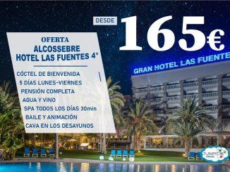 OFERTA Solo Hotel Gran Hotel Las Fuentes - TUSERCO