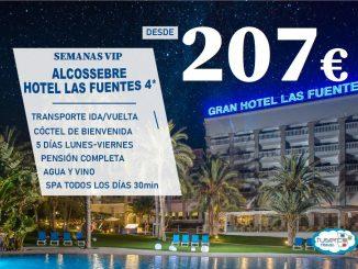 OFERTA Semana VIP Gran Hotel las Fuentes TUSERCO