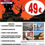 Halloween Hotel Peñíscola Plaza Suites 4*