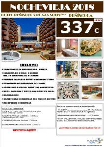 Oferta Nochevieja 2018 Hotel Peñíscola Plaza Suites 4*