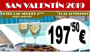 Oferta San Valentín Hotel Cap Negret