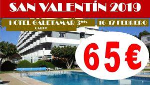 Oferta San Valentín Hotel Galetamar