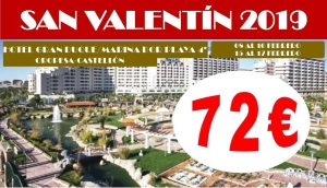 Oferta San Valentín Marina d'Or
