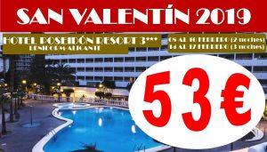Oferta San Valentín Hotel Poseidón Resort 3*
