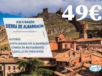 Excursión Sierra de Albarracin - TUSERCO TRAVEL