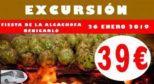 Excursión Fiesta de la Alcachofa