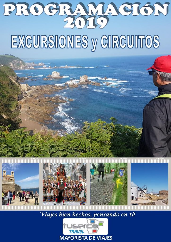 Folleto Tuserco Travel Excursiones y Circuitos 2019