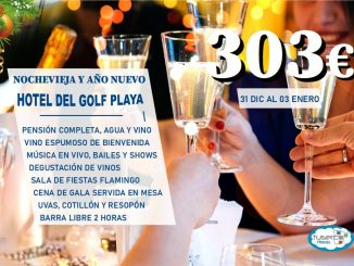 Nochevieja Hotel del Golf Playa sin transporte - Oferta Tuserco Travel