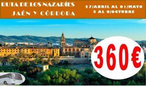 Ruta de los Nazaríes Jaén y Córdoba