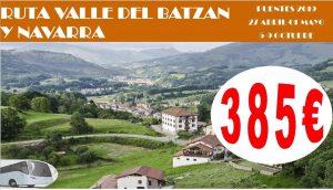 Ruta Valle del Batzán y Navarra