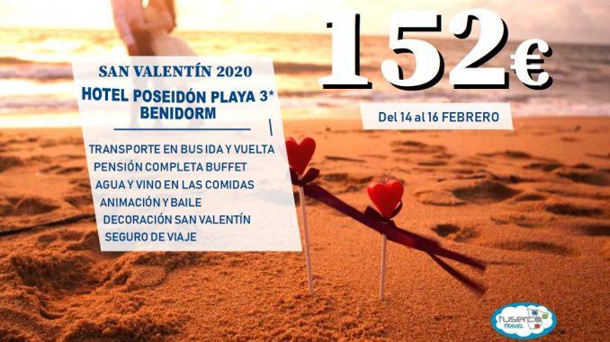 San Valentin Hotel Poseidon Playa con bus