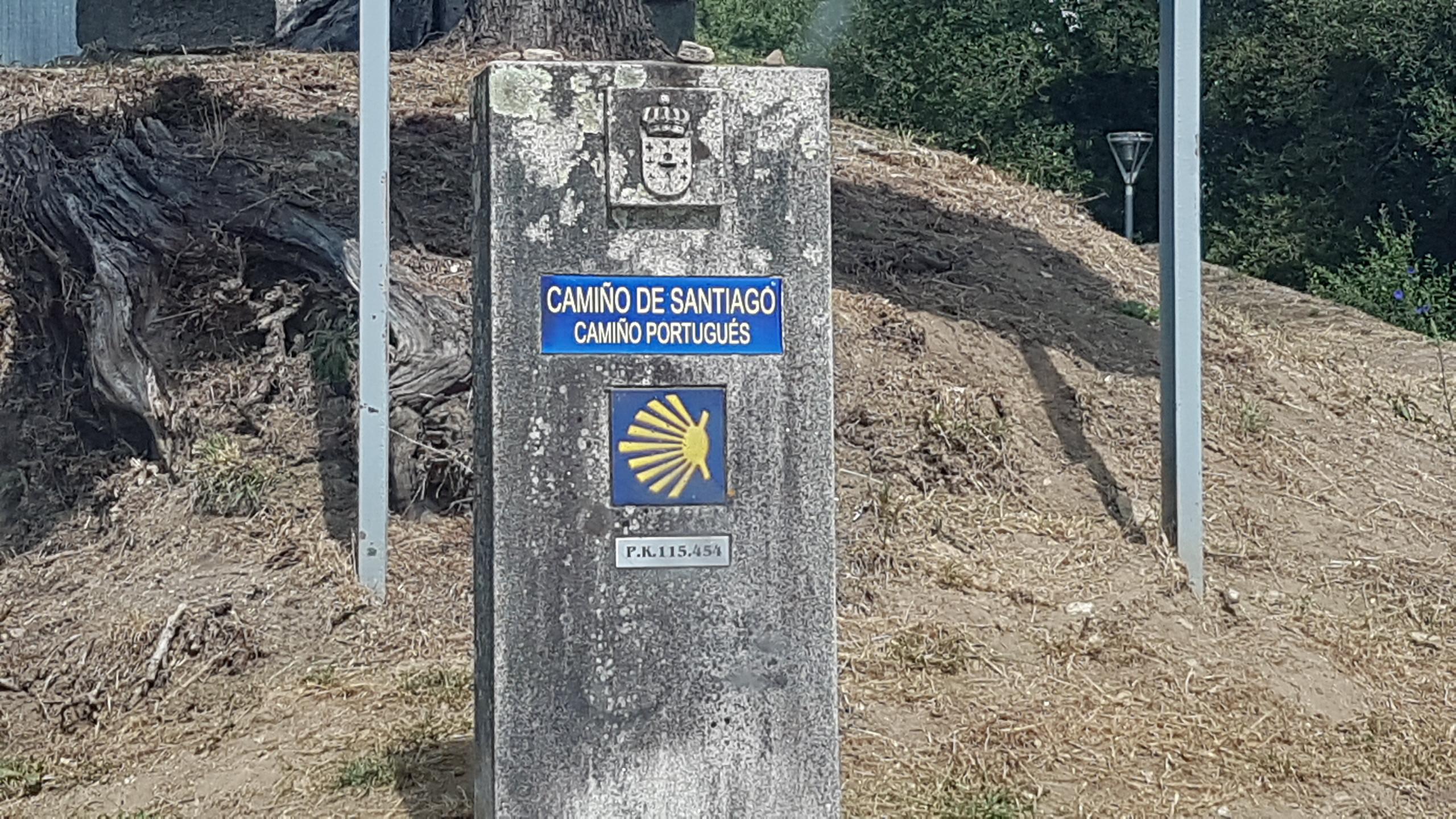 Hito Camino Portugués