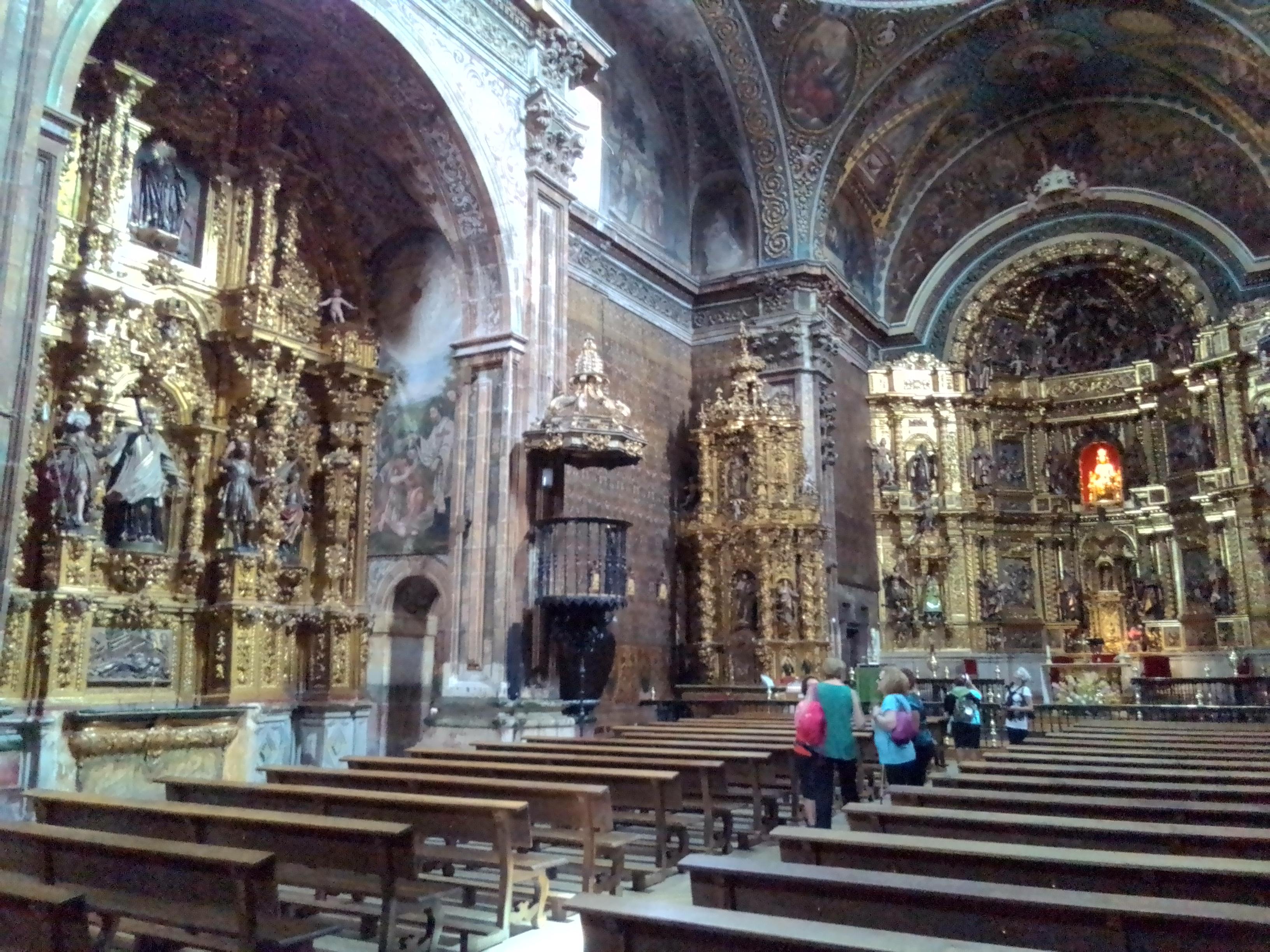 Iglesia en Camino de Santiago