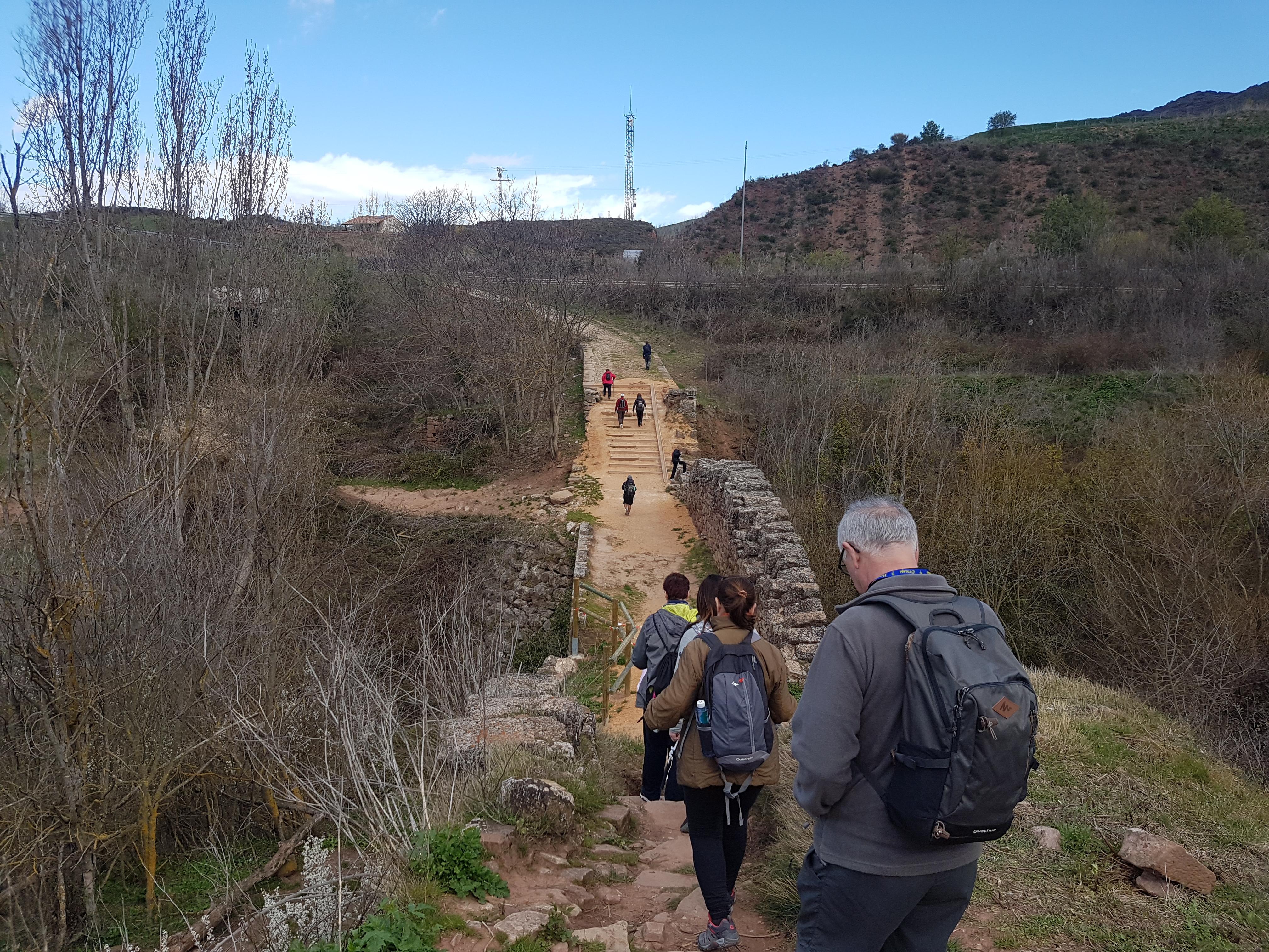 Puente Romano Camino de Santiago