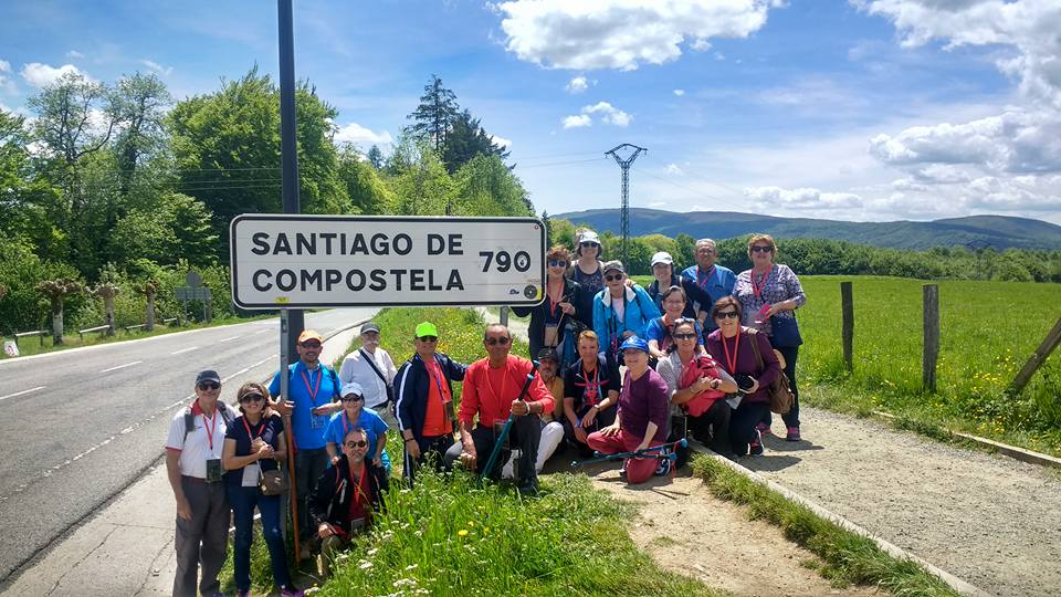 Camino de Santiago Roncesvalles