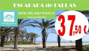 Escapada Fallas Hotel del Golf Playa