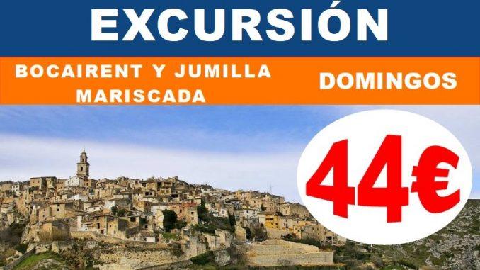 Excursión Bocairent y Mariscada Jumilla