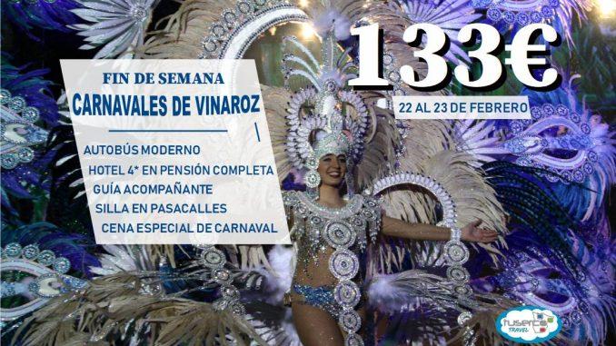 VIAJE CARNAVAL DE VINAROS FIN DE SEMANA - TUSERCO TRAVEL -
