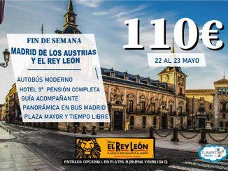 Viaje a Madrid de los Austrias y Rey León