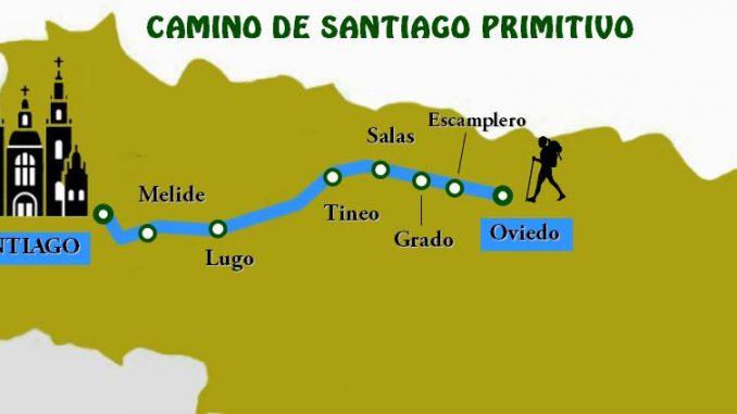 Camino de Santiago Primitivo
