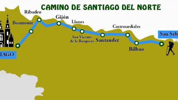 Camino de Santiago del Norte