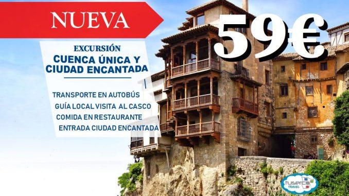 Excursion Cuenca Unica y Ciudad Encantada