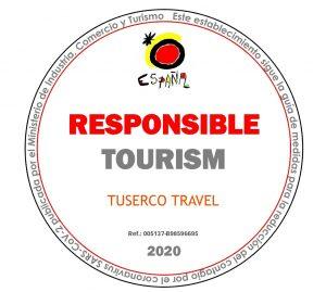 Sello Turismo Responsable Tuserco
