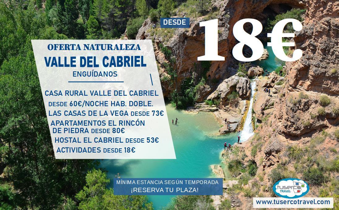 Oferta Naturaleza Valle del Cabriel – Tuserco Travel