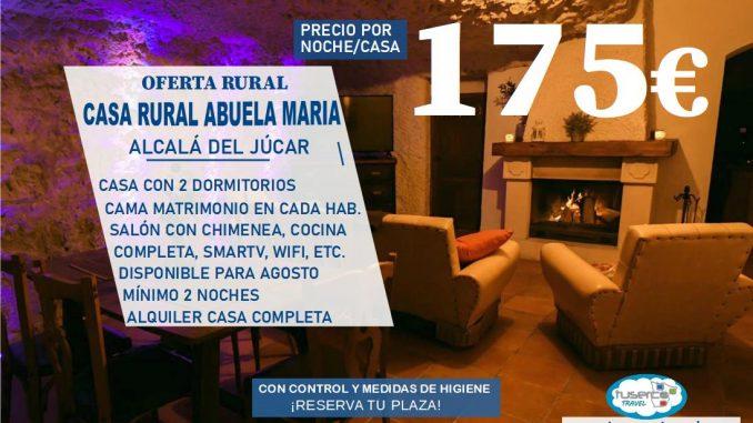 Oferta Casa Rural Abuela Maria - Tuserco
