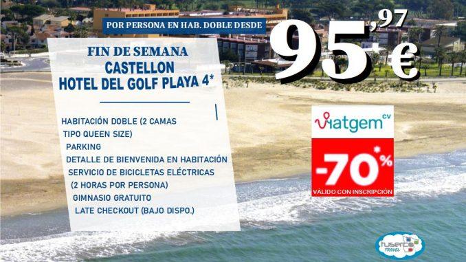 Escapada Mediterráneo en Hotel del Golf 4