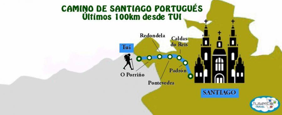 Camino de Santiago Últimos 100km desde Tui