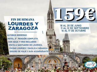 Viaje Lourdes y Zaragoza